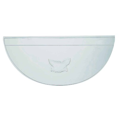 40 In. x 17 In. Plastic Window Well Cover