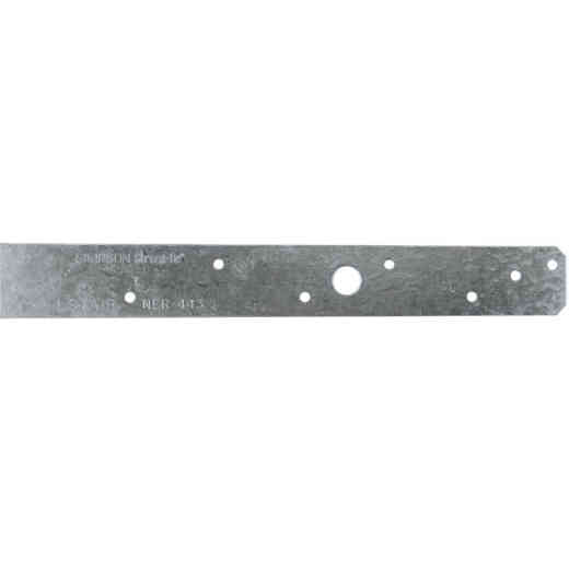 Simpson Strong-Tie 1-1/4 in. W. x 18 in. L Steel 20 Gauge Strap Tie