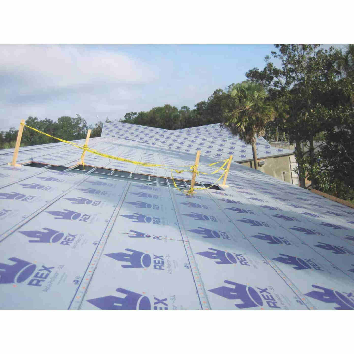 SynFelt 48 In. x 250 Ft. Gray Woven Synthetic Roof Felt Image 1
