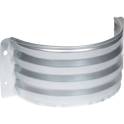 Amerimax 12 In. x 18 In. Galvanized Foundation Vent Area Wall