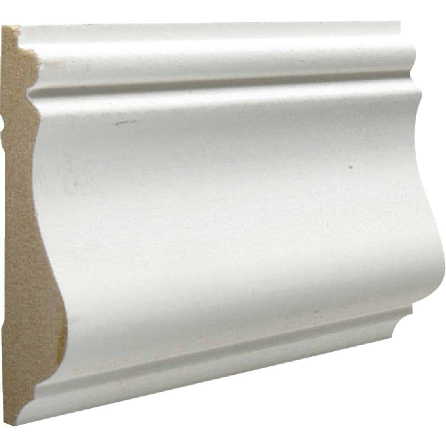 Cedar Creek 390 9/16 In. W. x 2-5/8 In. H. x 8 Ft. L. White MDF Colonial Chair Rail Molding Image 1