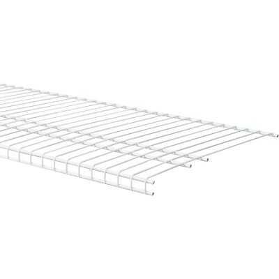 ClosetMaid SuperSlide 8 Ft. W. x 16 In. D. Ventilated Closet Shelf, White