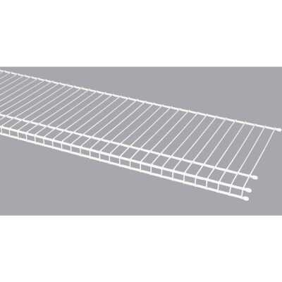 ClosetMaid SuperSlide 12 Ft. W. x 12 In. D. Ventilated Closet Shelf, White