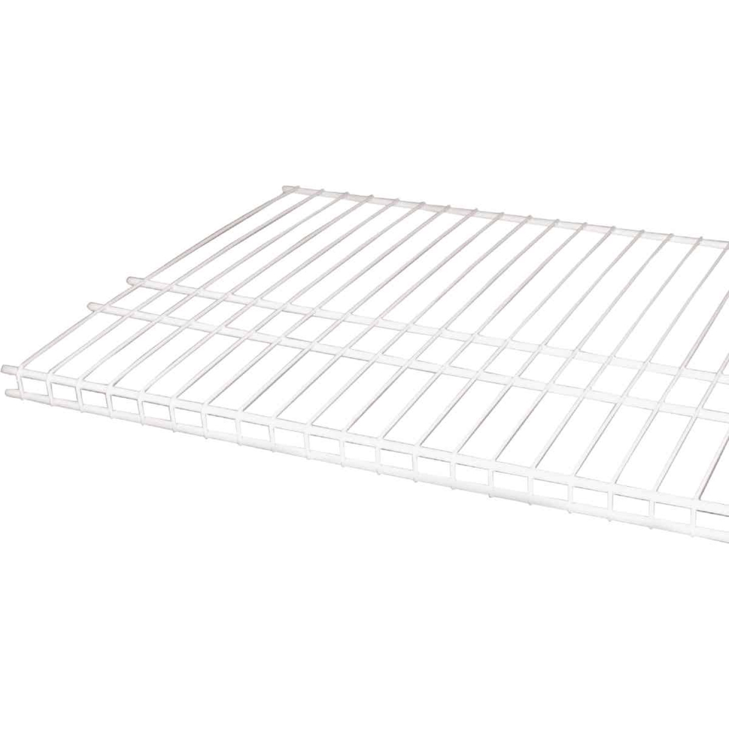 ClosetMaid SuperSlide 12 Ft. W. x 16 In. D. Ventilated Closet Shelf, White Image 2