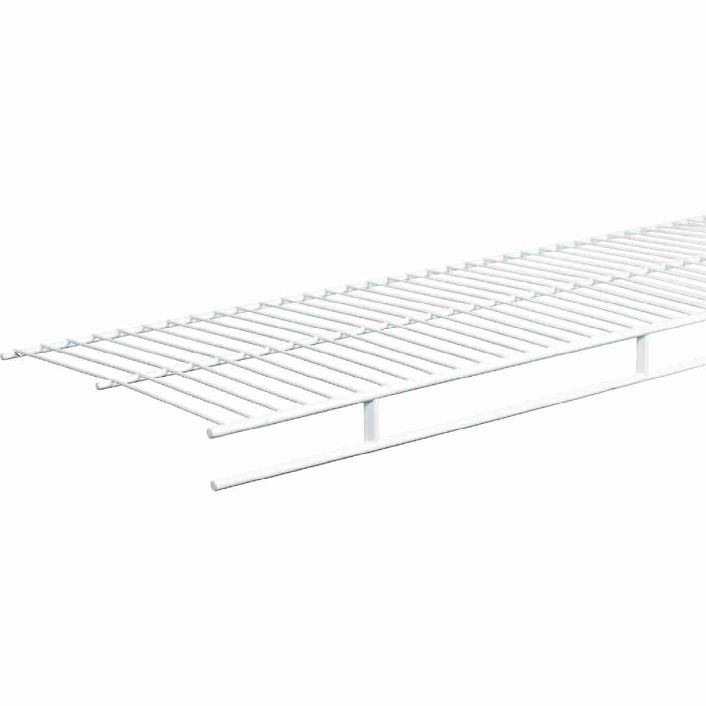 ClosetMaid 6 Ft. W. x 12 In. D. Ventilated Wire Shelf & Rod, White Image 3