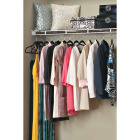 ClosetMaid 4 Ft. W. x 12 In. D. Ventilated Wire Shelf & Rod, White Image 2