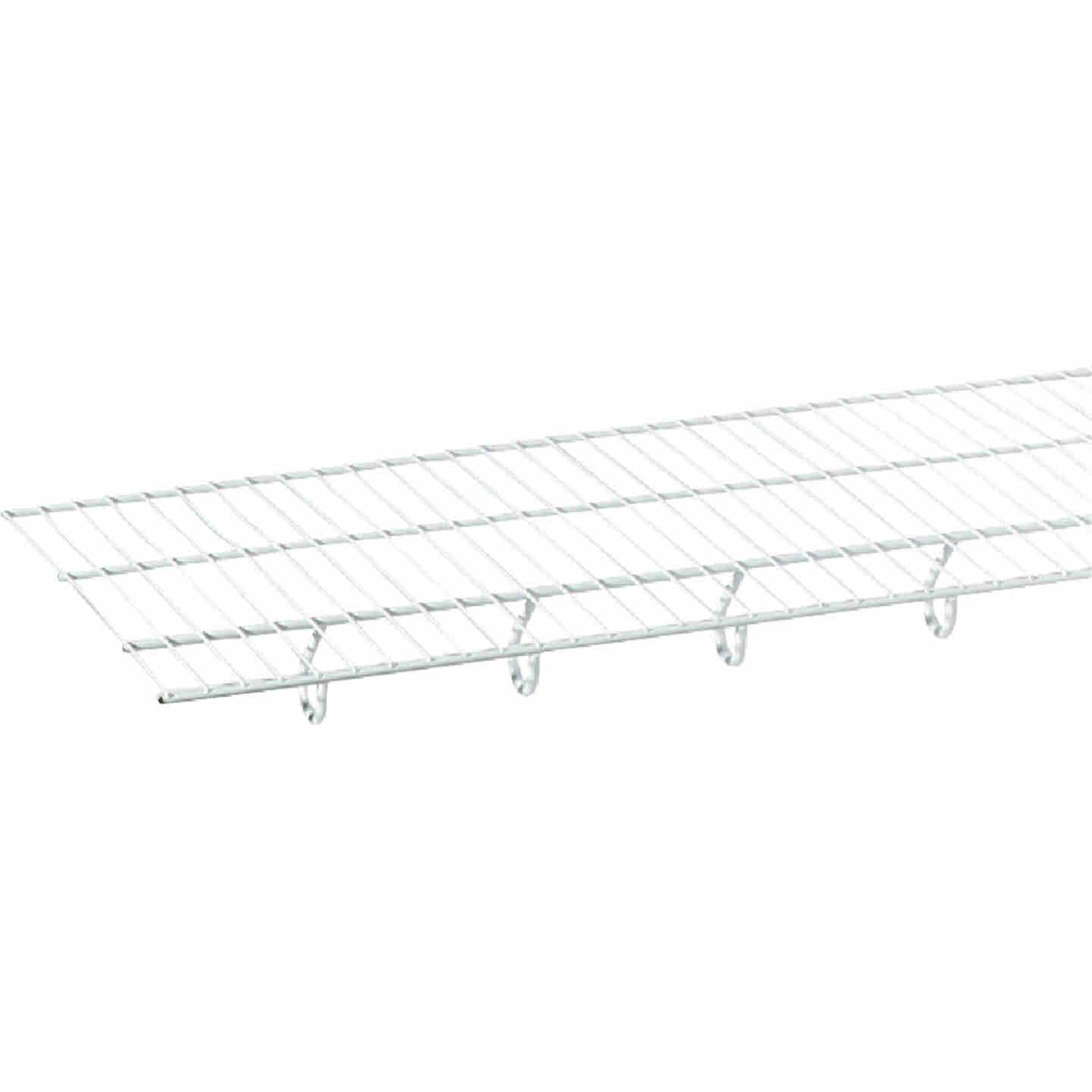 ClosetMaid TotalSlide 12 Ft. W. x 12 In. D. Contractor Pack Ventilated Wire Shelf & Rod, White (6-Pack) Image 5