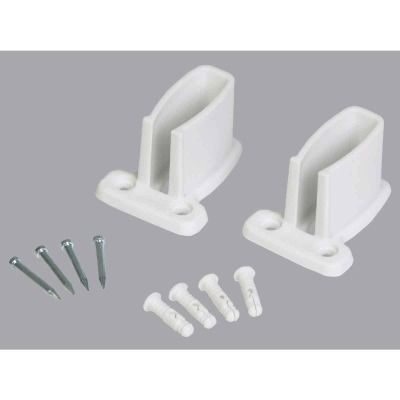 Closetmaid White Wire Shelving Wall Bracket