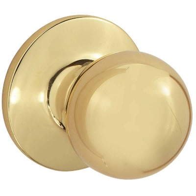 Steel Pro Polished Brass Hall & Closet Door Knob