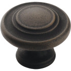 Amerock Inspirations Antique Rust 1-3/8 In. Cabinet Knob Image 1