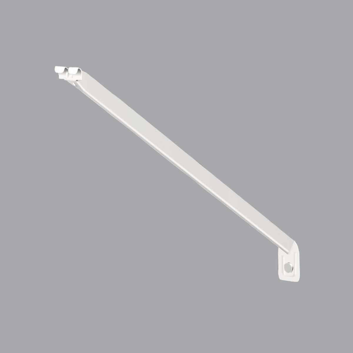 ClosetMaid 20 In. White Shelving Support Bracket Image 1