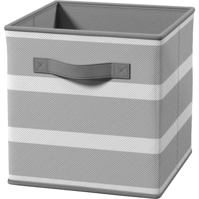 ClosetMaid Cubeicals 10.5 In. W. x 11 In. H. Gray Fabric Drawer