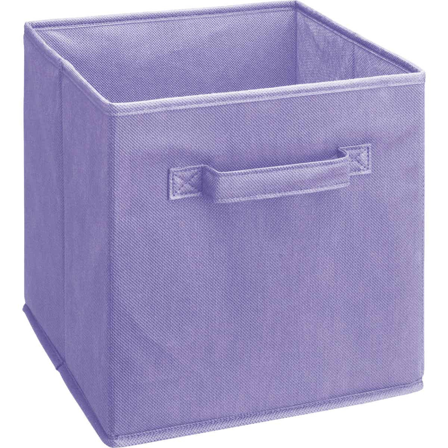 ClosetMaid Cubeicals 10.5 In. W. x 11 In. H. Purple Fabric Drawer Image 1