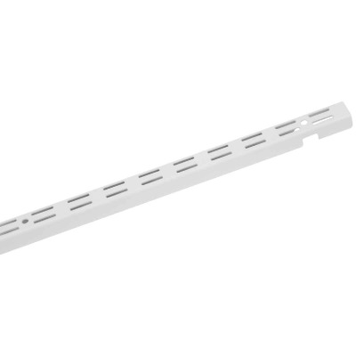 Closetmaid ShelfTrack 84 In. White Closet Shelf Standard