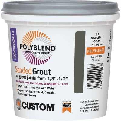 Custom Building Products Polyblend 1 Lb. Bone Sanded Tile Grout