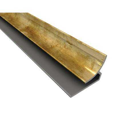 Fasade 18 In. Thermoplastic Inside Corner Backsplash Trim, Bermuda Bronze