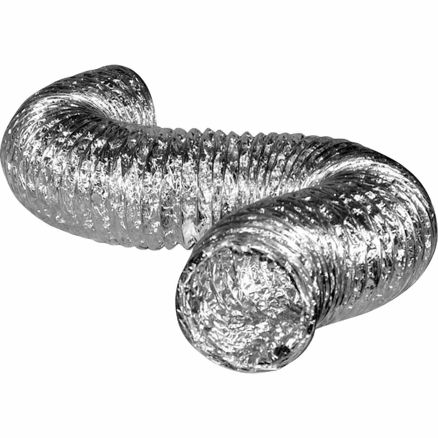 Dundas Jafine 4 In. Dia x 25 Ft. L UL 181 Listed Aluminum Foil Flexible Ducting Image 1