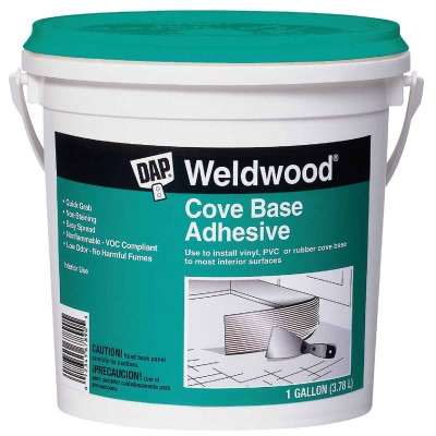 DAP Weldwood Cove Base Adhesive, 1 Gal.