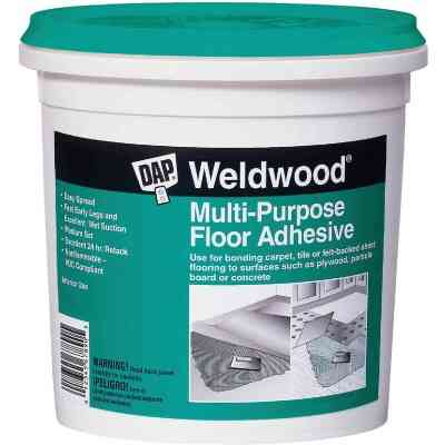 DAP Weldwood Multi-Purpose Floor Adhesive, 4 Gal.