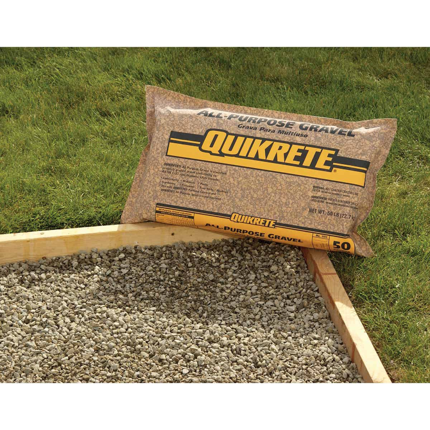 Quikrete 0.5 Cu. Ft. 50 Lb. All-Purpose Gravel Image 2
