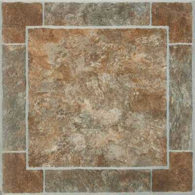Home Impressions Venetian Paver 12 In. x 12 In. Vinyl Floor Tile (45 Sq. Ft./Box)