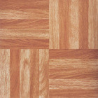 Home Impressions Wood Fingerblock 12 In. x 12 In. Vinyl Floor Tile (45 Sq. Ft./Box) Image 1