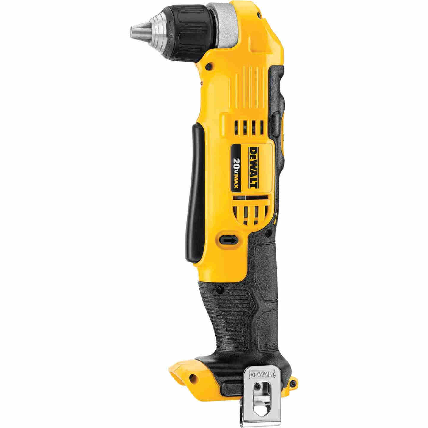 DeWalt 20 Volt MAX Lithium-Ion 3/8 In. Cordless Angle Drill (Bare Tool) Image 1