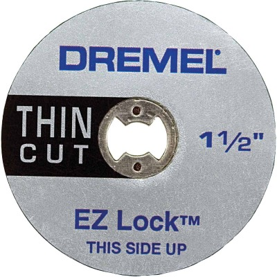 Dremel 1-1/2 In. EZ Lock Thin Cut-Off Wheel