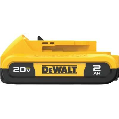 DeWalt 20 Volt MAX XR Lithium-Ion 2.0 Ah Compact Tool Battery (2-Pack)