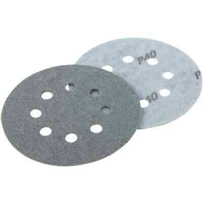 Shop Smith 5 In. 40-Grit 8-Hole Pattern Vented Sanding Disc with Hook & Loop Backing (3-Pack)