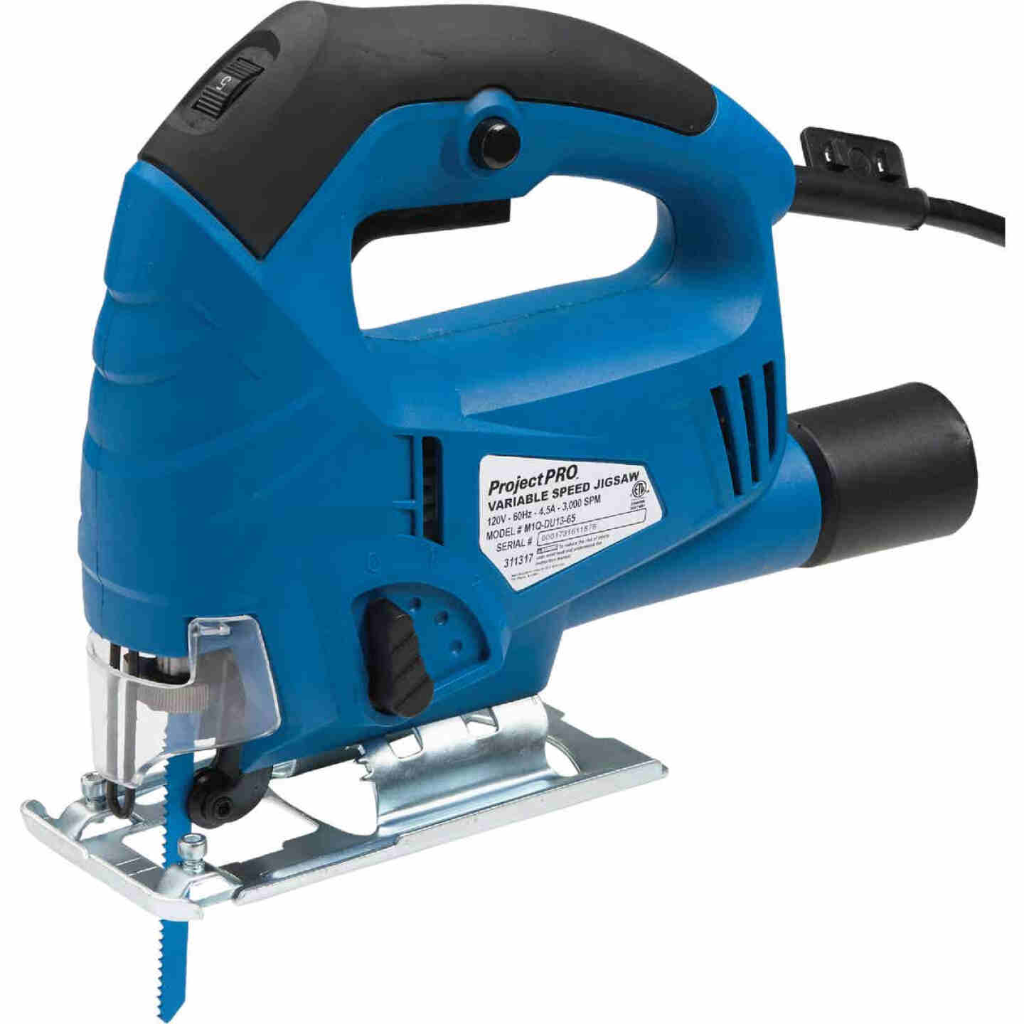 Project Pro 4.5A 0-3000 SPM Speed Jig Saw Image 3