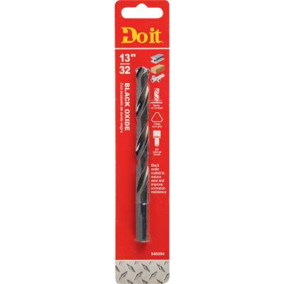 Do it 13/32 In. Black Oxide Drill Bit
