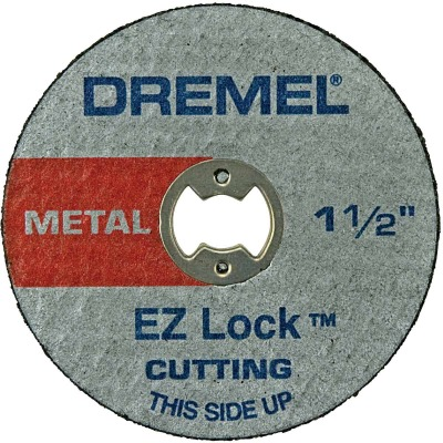 Dremel 1-1/2 In. EZ Lock Metal Cut-Off Wheel, (5-Pack)