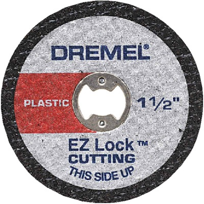 Dremel 1-1/2 In. EZ Lock Plastic Cut-Off Wheel