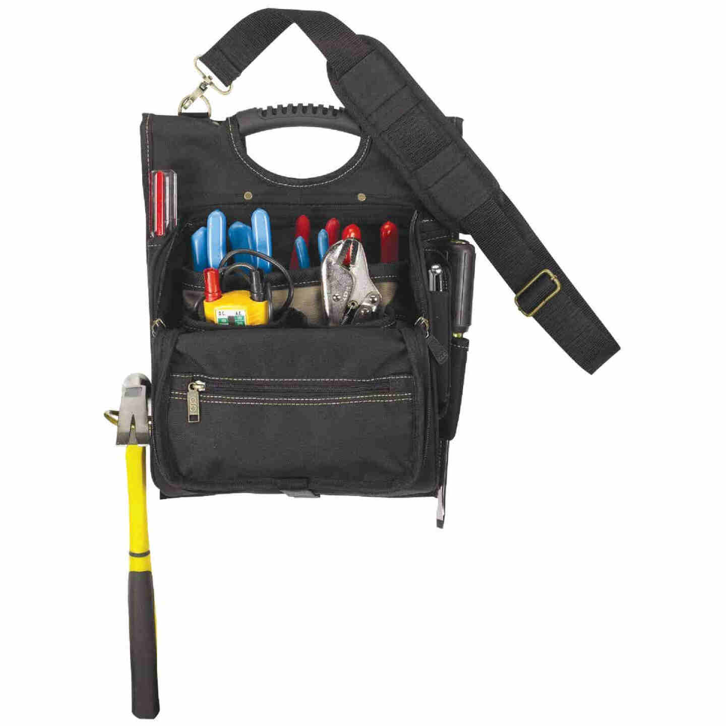CLC 21-Pocket Zippered Electrician's Tool Pouch Image 1