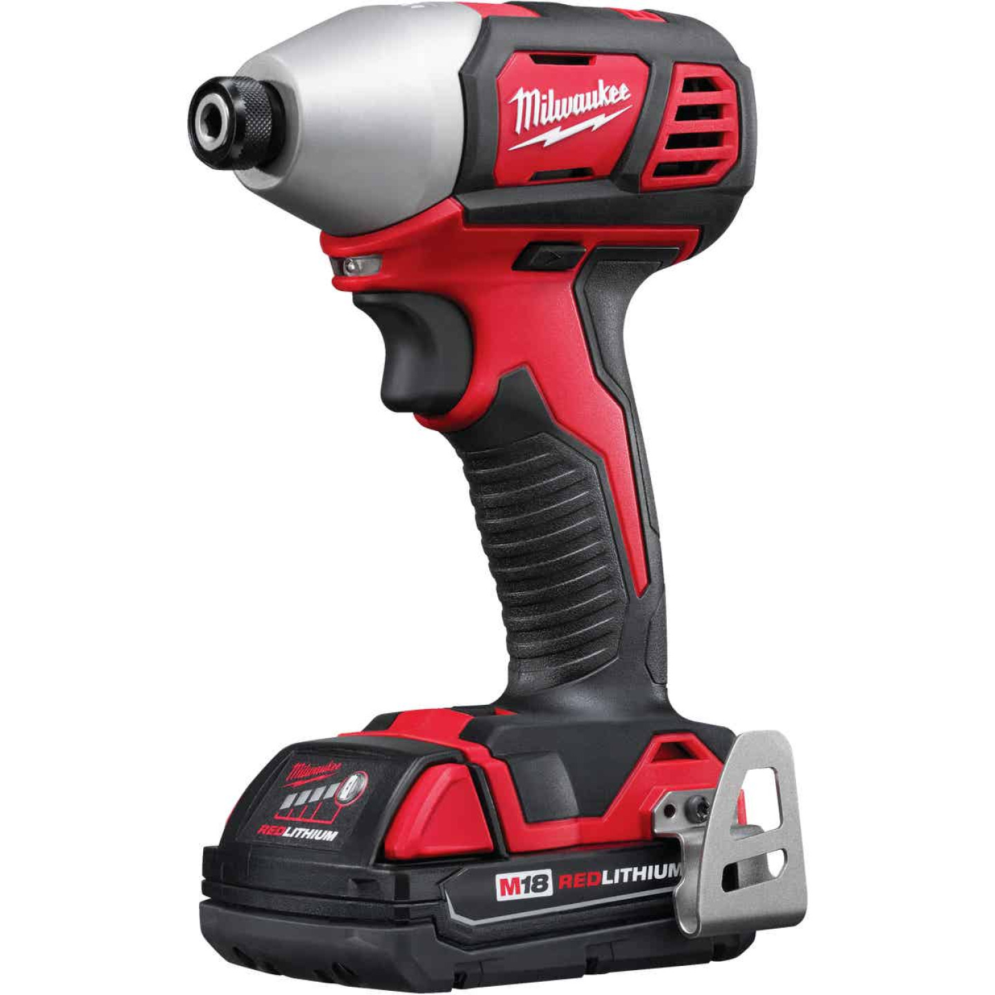 Milwaukee M18 18 Volt Lithium-Ion 2-Speed 1/4 In. Hex Cordless Impact Driver Kit (with 2 Compact Batteries) Image 1