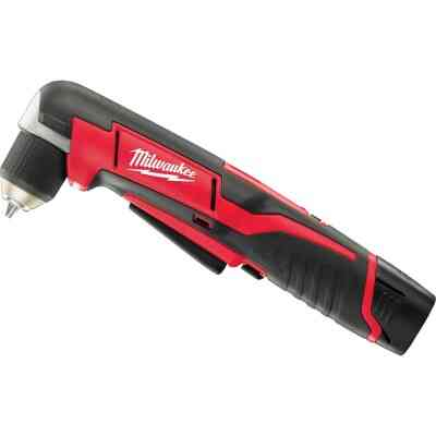 Milwaukee M12 12-Volt Lithium-Ion 3/8 In. Cordless Angle Drill Kit