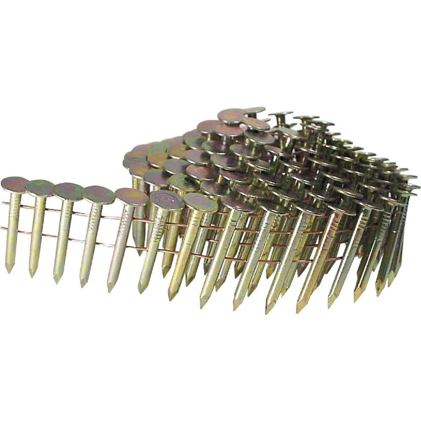 Grip-Rite 15 Degree Wire Weld Electrogalvanized Coil Roofing Nail, 3/4 In. (7200 Ct.) Image 1
