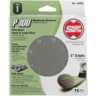 Shop Smith 5 In. 100-Grit 8-Hole Pattern Vented Sanding Disc with Hook & Loop Backing (15-Pack) Image 1