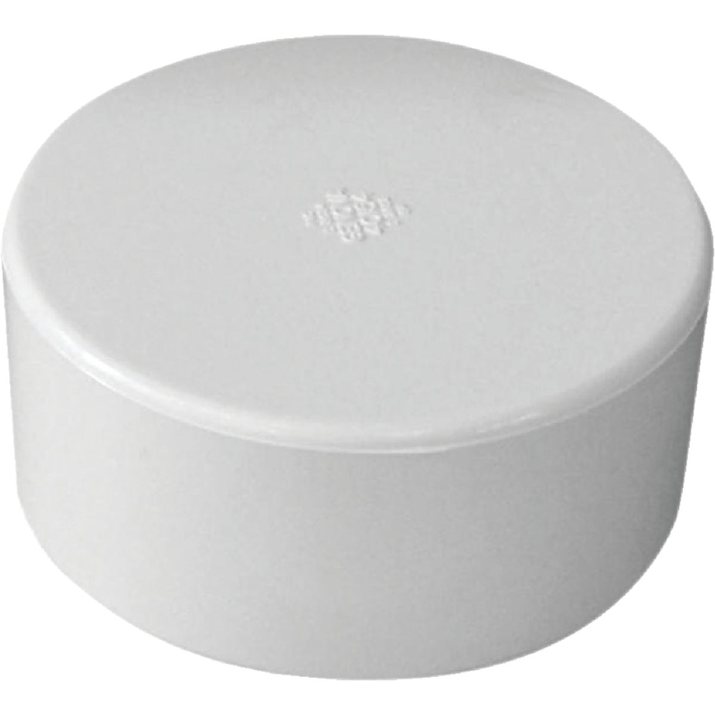 IPEX 3 In. PVC Sewer and Drain Slip Cap Image 1