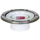 Sioux Chief 3 In. Schedule 40 DWV PVC Closet Flange with Knockout Image 1