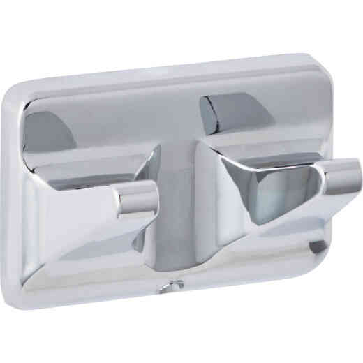 Home Impressions Polished Chrome Double Robe Hook