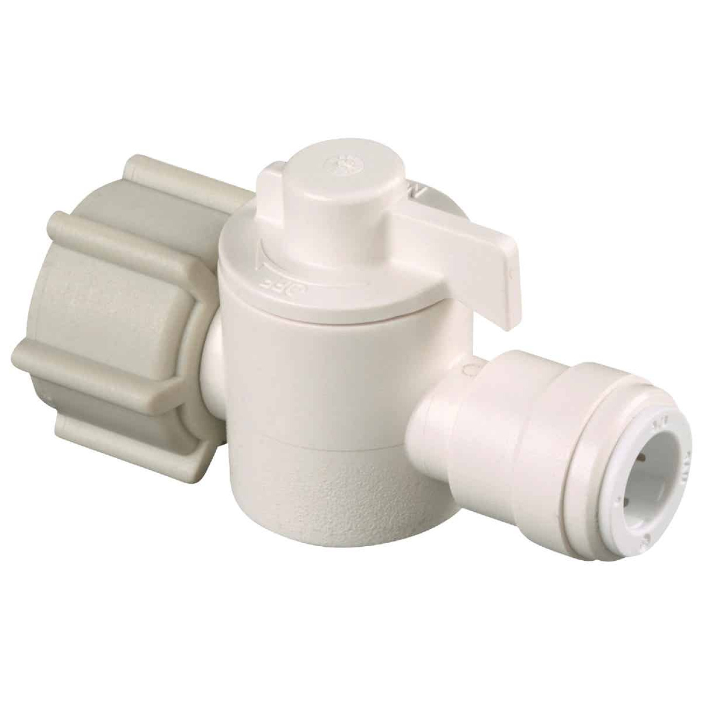 Watts 1/2 In. FPT X 1/4 In. CTS Plastic Push Valve Image 1