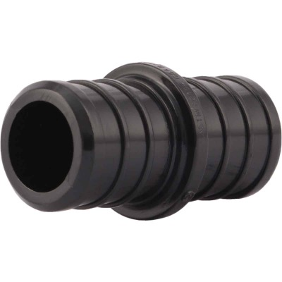 SharkBite 3/4 In. Barb x 3/4 In. Barb Poly Alloy (Plastic) PEX Coupling (10-Pack)