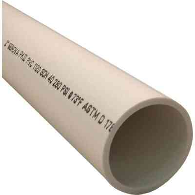 Charlotte Pipe 2 In. x 2 Ft. PVC-DWV Cellular Core Schedule 40 Pipe