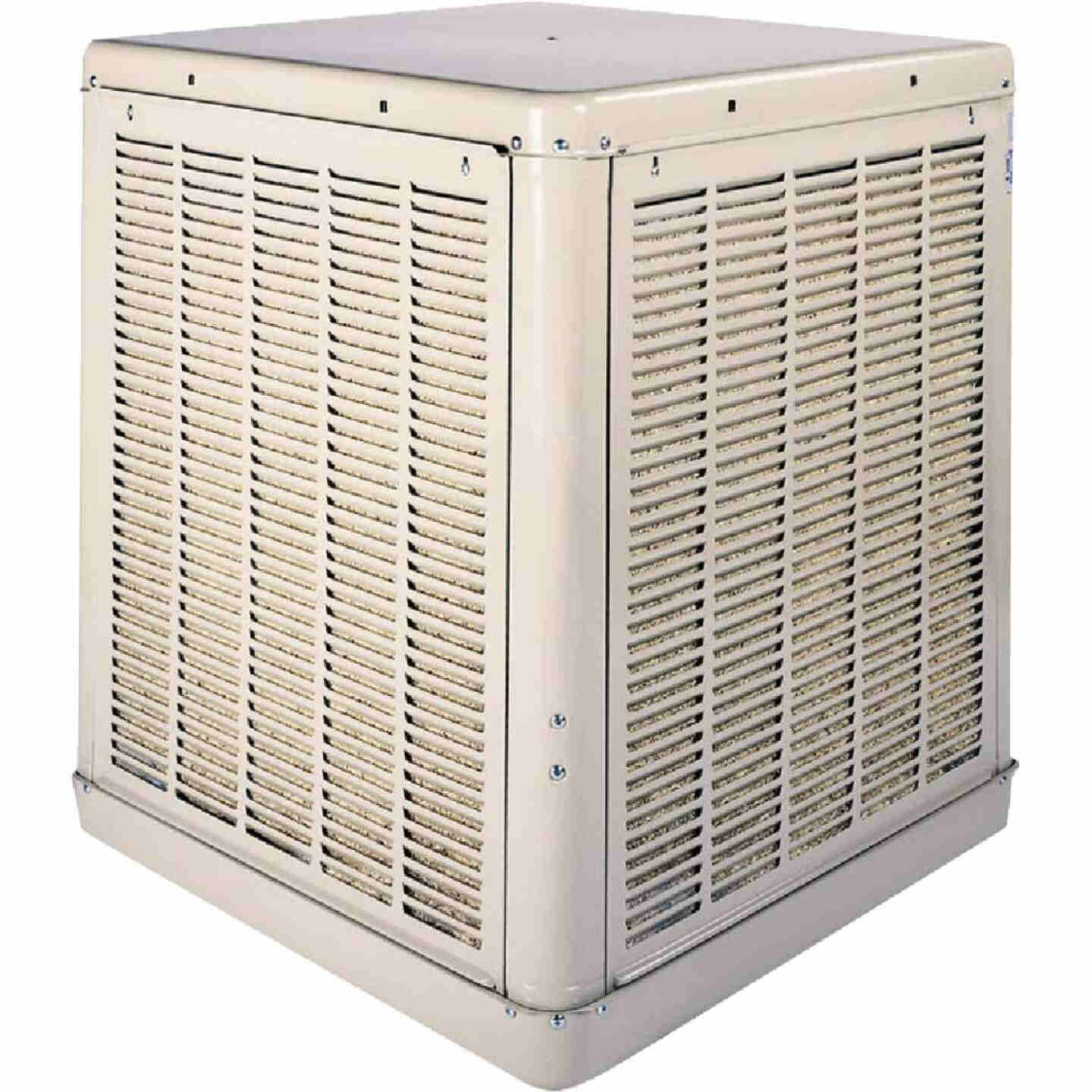 Essick 2240 to 4900 CFM Down Discharge Whole House Aspen Media Residential Evaporative Cooler, 800-1800 Sq. Ft. Image 1