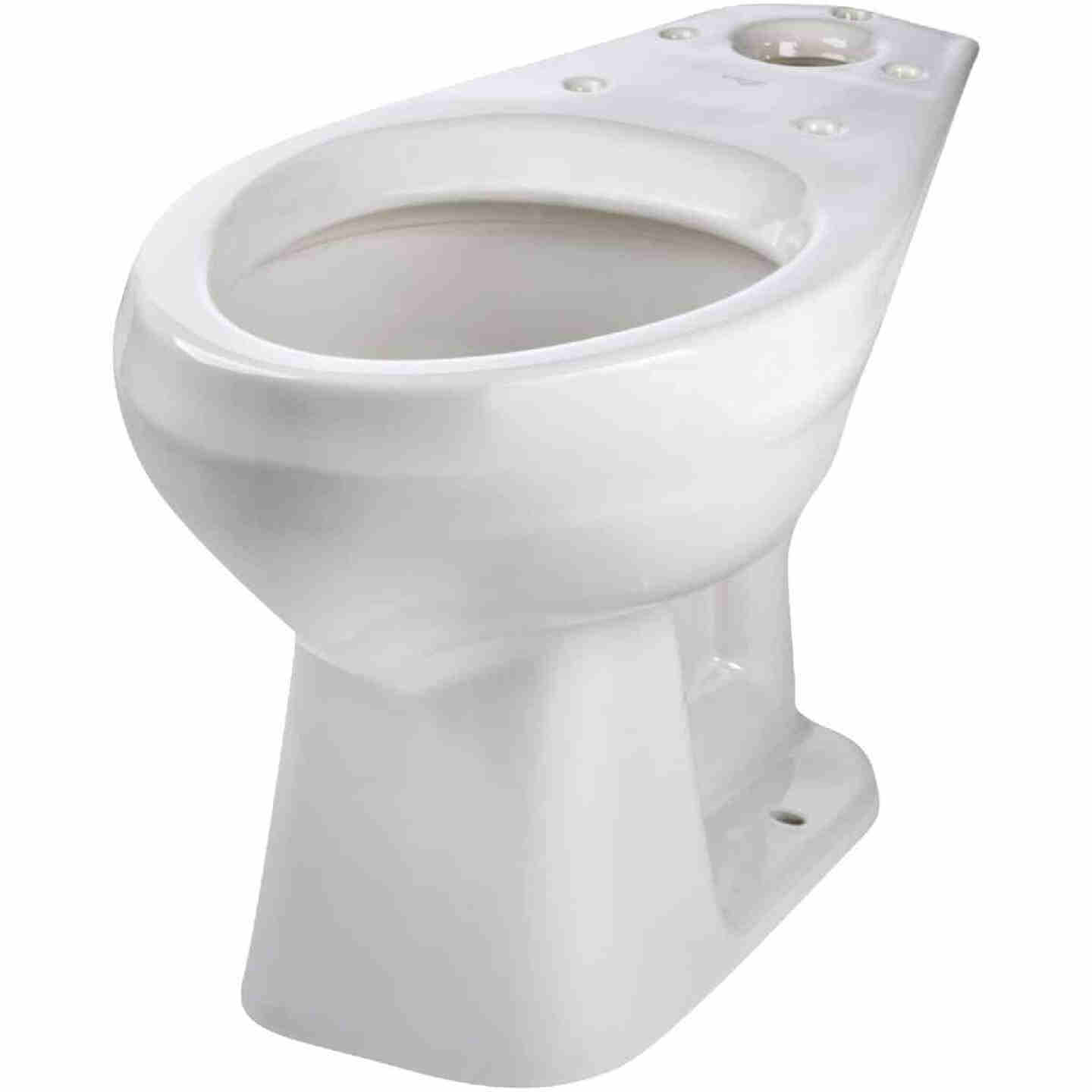 Mansfield Pro-Fit 3 SmartHeight White Elongated Bowl 1.6 GPF Complete Toilet Image 4