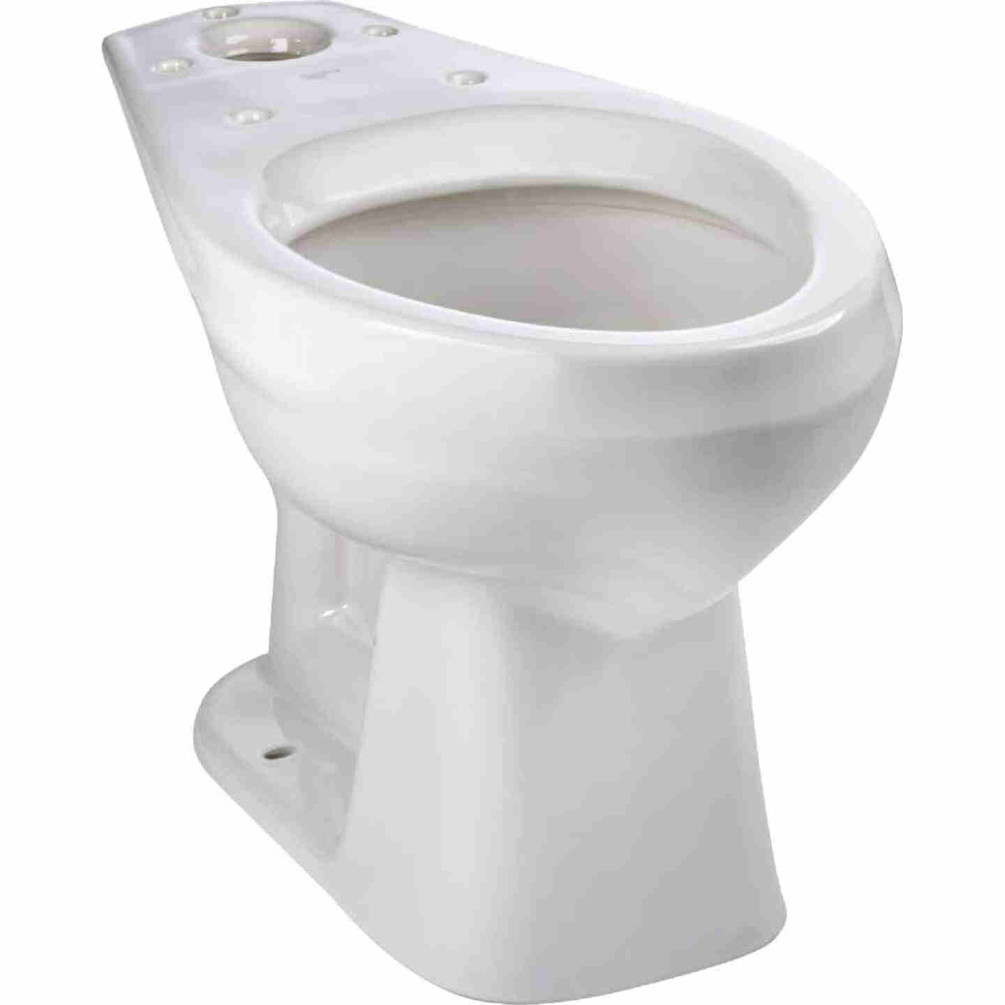 Mansfield Pro-Fit 3 SmartHeight White Elongated Bowl 1.6 GPF Complete Toilet Image 5