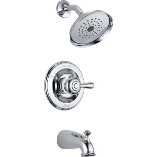 Delta Chrome 1-Handle Lever Tub and Shower Faucet
