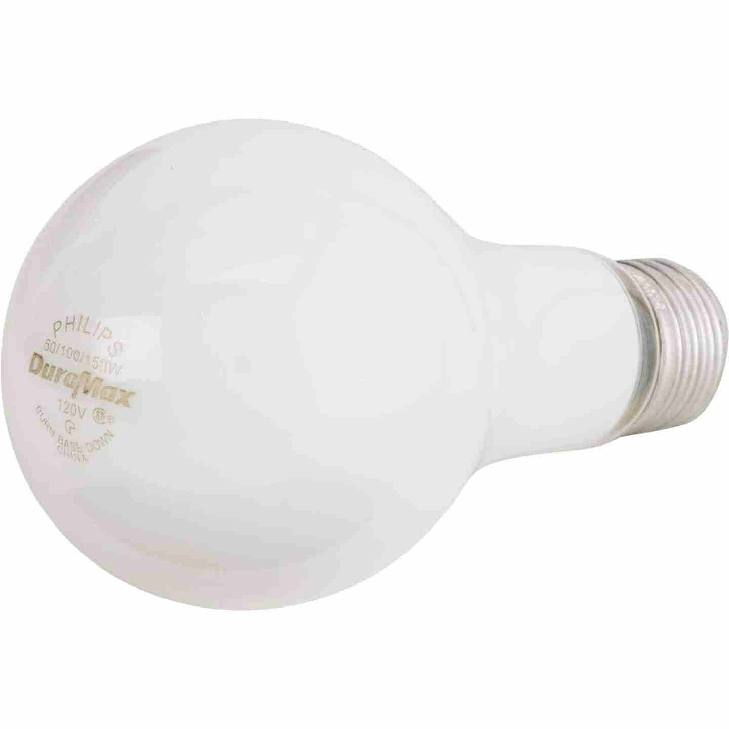 Philips Duramax 50/100/150W Frosted Soft White Medium Base A21 Incandescent 3-Way Light Bulb Image 3